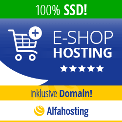 Alfahosting E-Shop Hosting