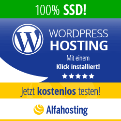 Alfahosting WordPress Hosting