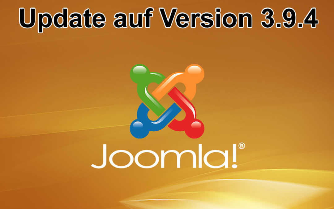 Joomla Update auf Version 3.9.4