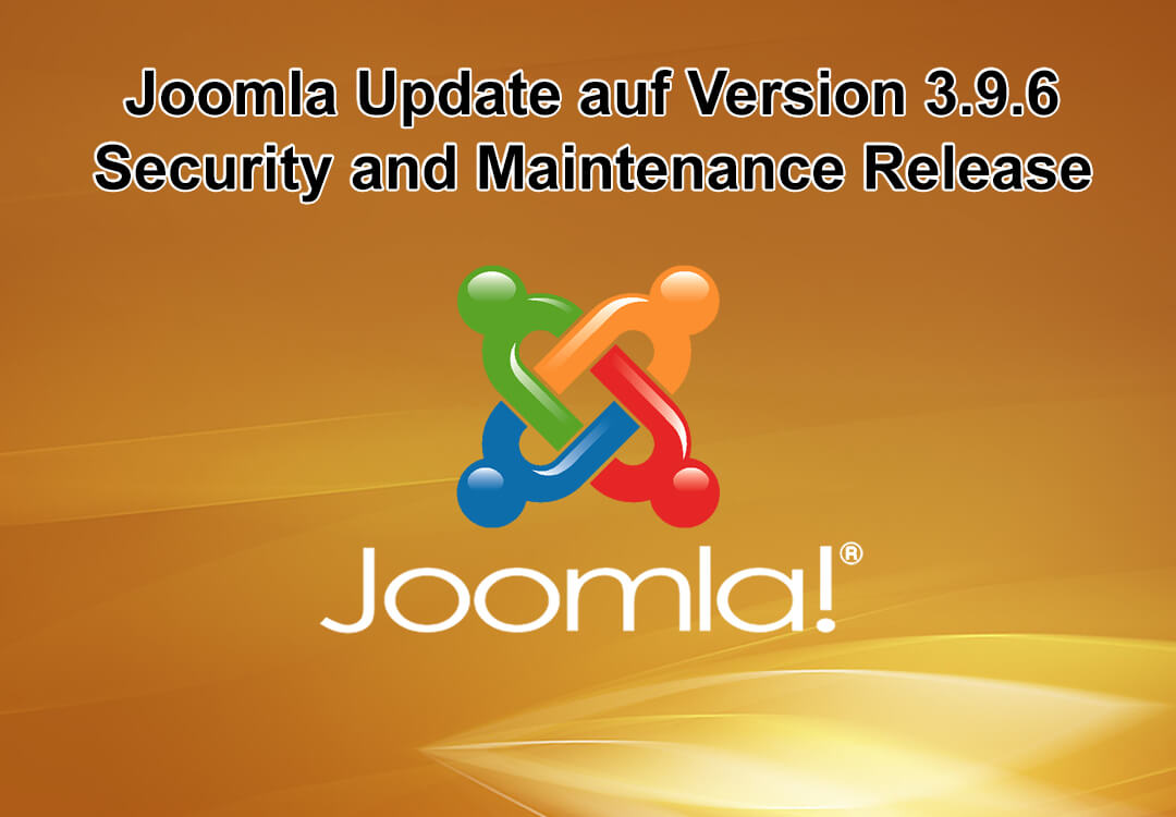 Joomla Update auf Version 3.9.6