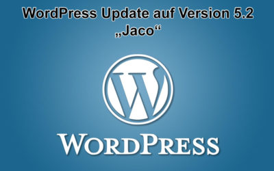 "WordPress Update ""Jaco"" auf Version 5.2 erschienen"