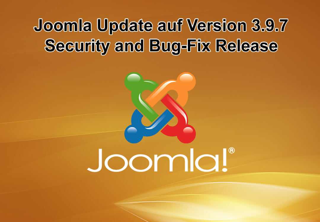 Joomla Update auf Version 3.9.7