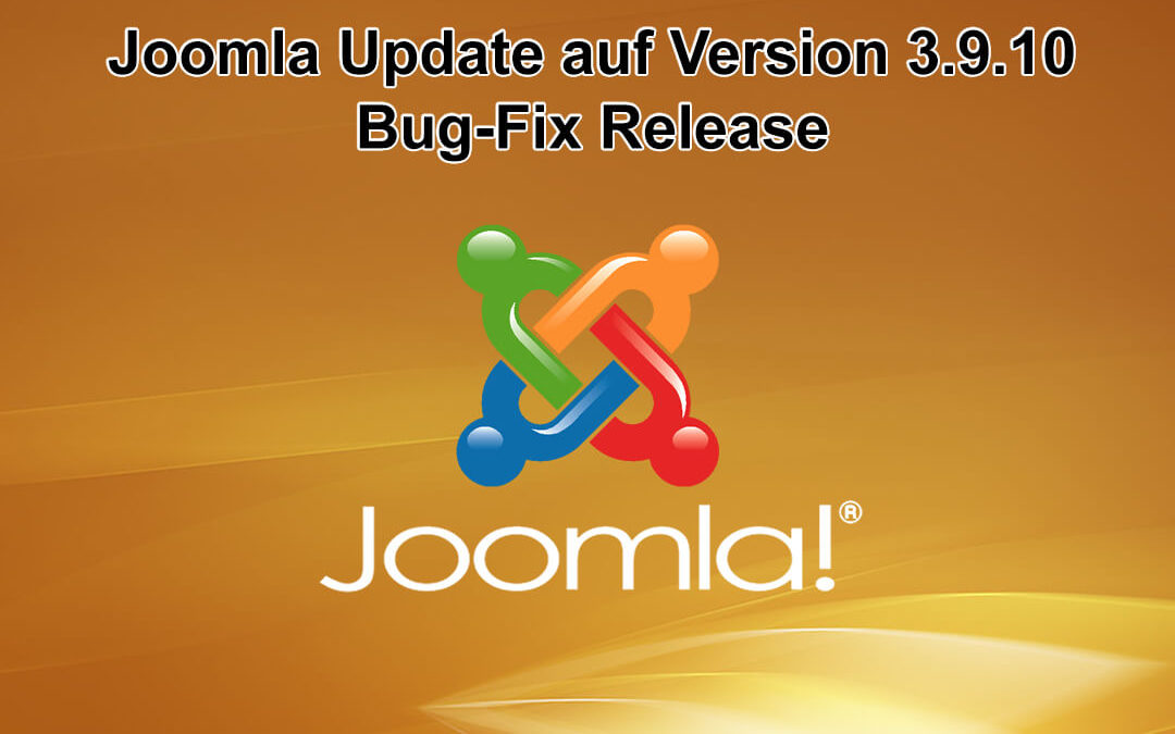 Joomla Update auf Version 3.9.10