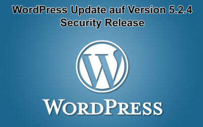 WordPress Update auf Version 5.2.4 erschienen