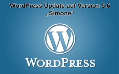 "WordPress Update auf Version 5.6 ""Simone"" erschienen"