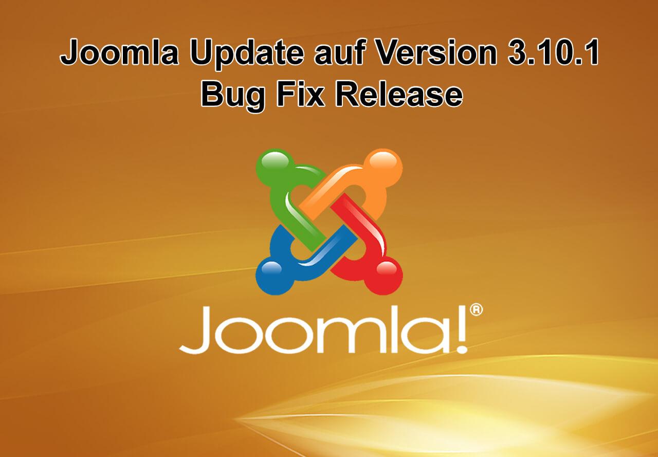 Joomla Update auf Version 3.10.1 erschienen - Bug Fix Release
